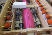 Array of Finished Projectiles