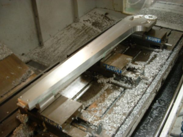 Machined Aluminum Spar