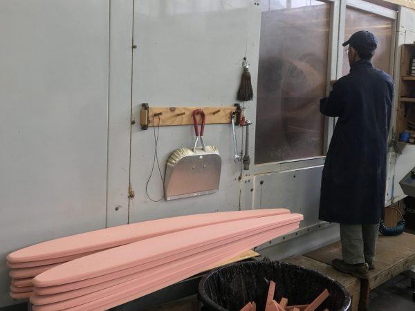 Foam Machining Production