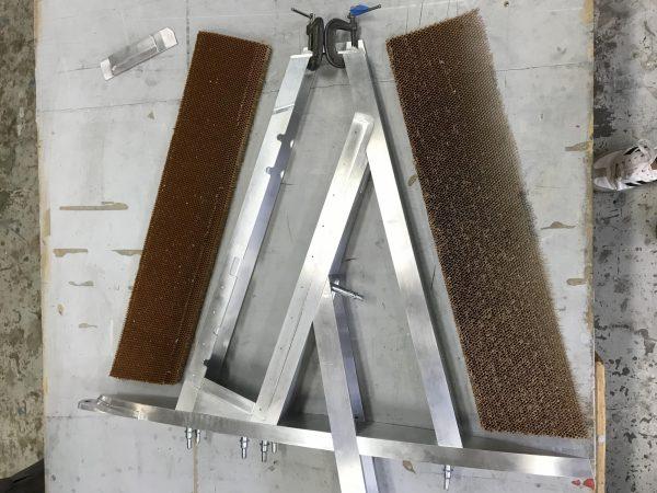 Aluminum Frame + honeycomb Core