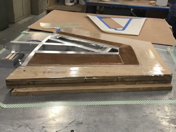 Bonded Assembly Without Top fiberglass Skin
